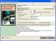 Screenshot von Video-AVI-MPEG zu Flash 1.0.
