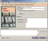 Screenshot von Web BildSauger 2.3.